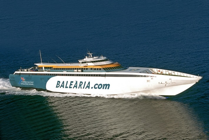 Reserve su billete de ferry Palma de Mallorca - Ibiza